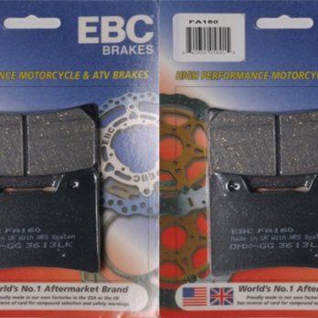 EBC Front Brake Pads for 93-07 OEM Vmax 4 Piston Brake Caliper