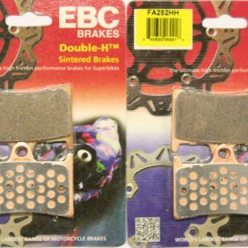 EBC Front Brake Pads for R1, Warrior, Raider (Blue, Gold, Silver, Billet Spot) *4 Piston Calipers