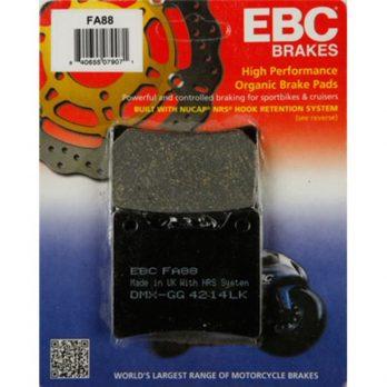 EBC Rear Pads for 85-07 OEM Vmax 2 Piston Brake Caliper