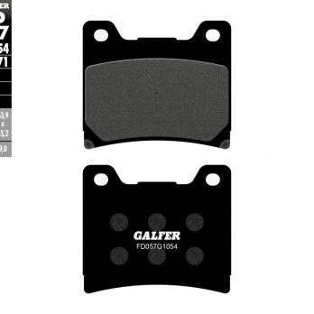 Galfer Front Brake Pads for 85-92 OEM Vmax 2 Piston Calipers