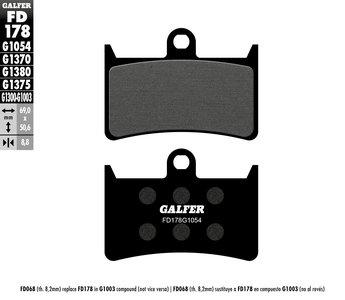 Galfer Front Brake Pads for R1, Warrior, Raider (Blue, Gold, Silver, Billet Spot) *4 Piston Calipers