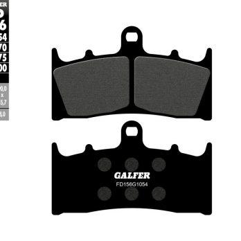 Galfer Front Brake Pads for 99-07 Hayabusa 6 Piston Calipers