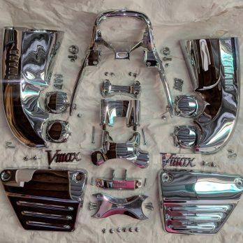 Complete Chrome Kit for Gen 1 Vmax '85 – '07